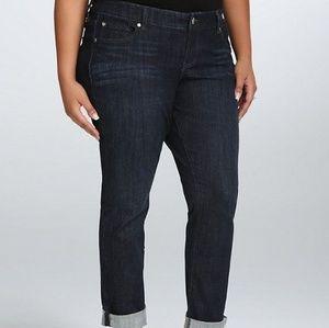 Torrid Dark Rinse Boyfriend Jeans *sz 18*